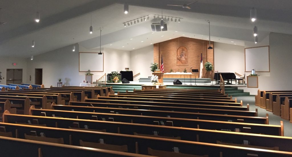 First Baptist Church West Lafayette Ohio Auditorium