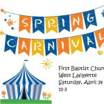Spring Carnival At First Baptist Church